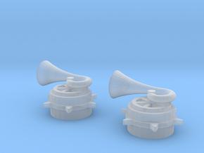 Skokie Swift Horn Set (1:48) in Smoothest Fine Detail Plastic