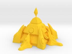 1/8000 Protoss Nexus in Yellow Processed Versatile Plastic