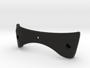 HoloLensMount_LOWER in Black Natural Versatile Plastic
