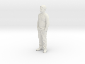 Printle C Kid 156 - 1/32 - wob in White Strong & Flexible
