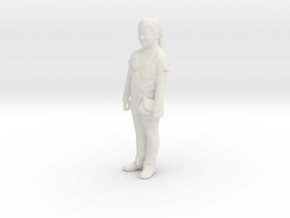 Printle C Kid 161 - 1/32 - wob in White Strong & Flexible