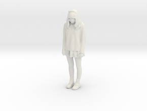 Printle C Kid 163 - 1/24 - wob in White Strong & Flexible