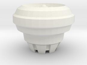 VTOL Fan Type 2  in White Natural Versatile Plastic