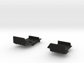 Raffee Defender D90 / SCX10 Electronics Mounting P in Black Natural Versatile Plastic