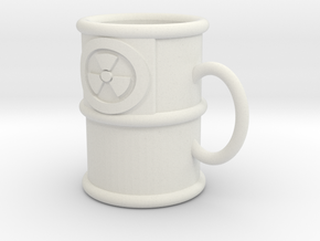 Weapons-Grade Espresso Mug in White Natural Versatile Plastic