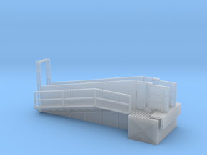 H0 Loading Ramp in Frosted Ultra Detail