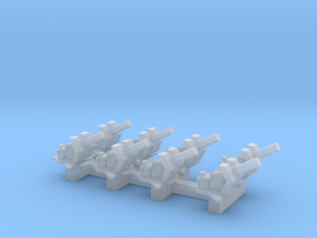 1/350 20mm Flak 38 in Smooth Fine Detail Plastic