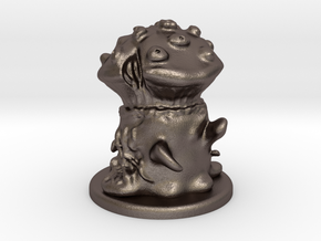 Fungus Monster in Polished Bronzed Silver Steel