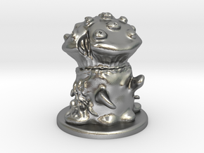 Fungus Monster in Natural Silver