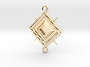 Pendant Leonardo in 14k Gold Plated