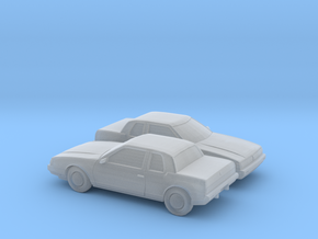 1/160 2X 1985-89 Oldsmobile Toronado in Frosted Ultra Detail