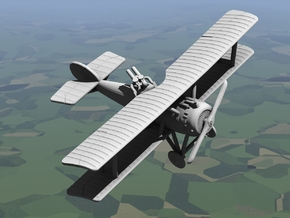Hanriot HD.3 in White Strong & Flexible: 1:144