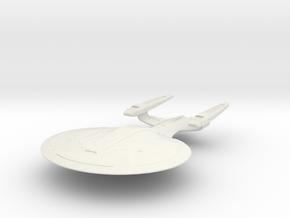 Sojourner Class  BattleCruiser in White Natural Versatile Plastic