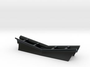 "NY&A ""Weedcutter"" Plow (N) in Black Hi-Def Acrylate"