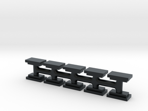 EMD 40 Series DB Vents (N) in Black Hi-Def Acrylate