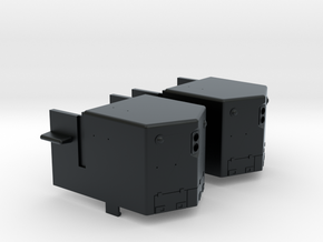 EMD GP Nose w/Headlight (N) in Black Hi-Def Acrylate