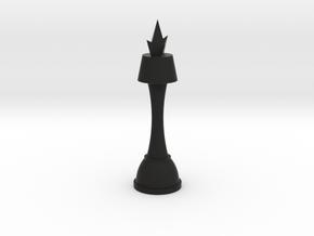 Code Geass King Chess Piece in Black Natural Versatile Plastic