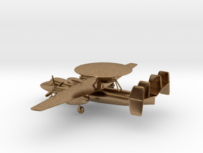 Northrop Grumman E-2 Hawkeye in Natural Brass: 1:200