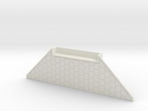 N Scale Bridge Abutment Kato Double Track in White Natural Versatile Plastic