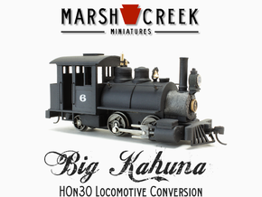 HOn30 0-4-2 Locomotive BIG KAHUNA in Frosted Extreme Detail