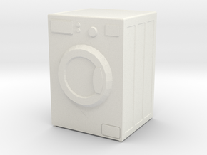Printle Thing Washing Machine - 1/24 in White Natural Versatile Plastic