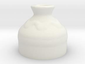 Small Pot - Legend of Zelda Ocarina of Time in White Natural Versatile Plastic