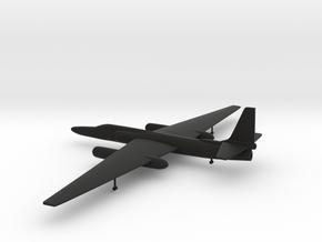 Lockheed U-2 Dragon Lady in Black Strong & Flexible: 1:200