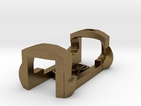 plastic clip for garmin foot pod SDM4 in Natural Bronze