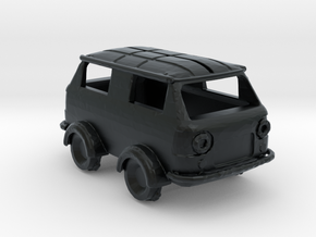 Draisina FIAT 850 in Black Hi-Def Acrylate