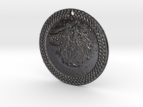Watchdogs of Farron Sigil in Polished and Bronzed Black Steel