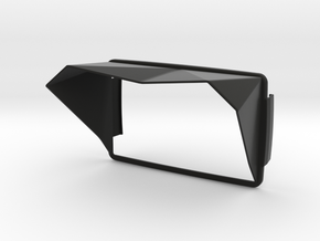 Sunshade (Clip-On) for BMW Navigator 6 in Black Strong & Flexible