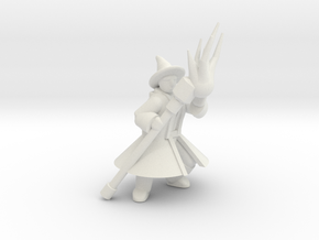 General Wizard Mini 2 (Staff and Spell) in White Natural Versatile Plastic