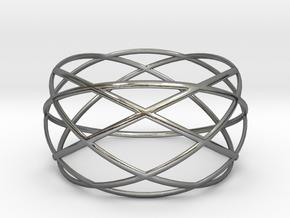 Wristband - revo 50 in Polished Silver