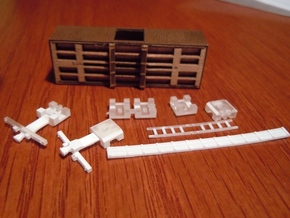 A55 N Upgrade parts, Republic Loco Civil War cars in Smooth Fine Detail Plastic
