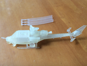 035B Modified Gazelle 1/144 in Smooth Fine Detail Plastic