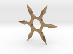 Shuriken Spinner in Natural Brass