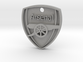 Arsenal FC Shield KeyChain in Aluminum