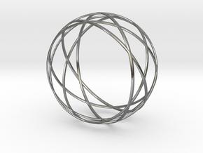 Wristband - Revo 58 in Polished Silver