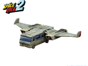 Space Race - #1 - Flying Camper in Smooth Fine Detail Plastic