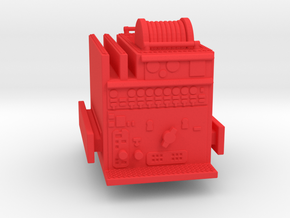 ALF Century 2000 1:87 Pump in Red Processed Versatile Plastic