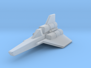Viper Mk I (Battlestar Galactica), 1/270 in Smooth Fine Detail Plastic