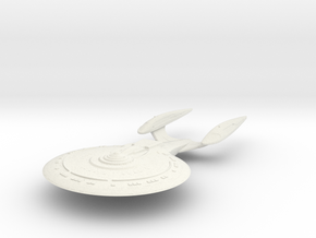 Bosley Class VII B Refit  Cruiser in White Natural Versatile Plastic