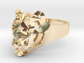 Star Tiger Ring in 14K Yellow Gold: 7 / 54