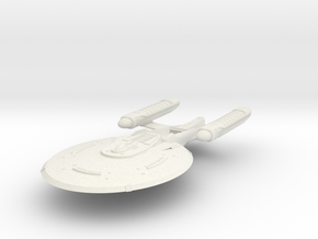 Frontier Class VI B Refit  Cruiser in White Natural Versatile Plastic