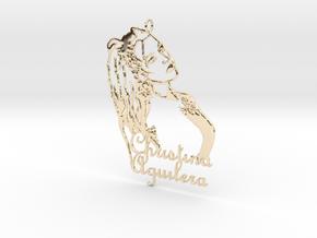 Christina Aguilera Pendant - Exclusive Jewellery in 14K Yellow Gold