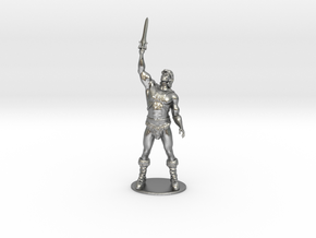 He-Man Miniature in Natural Silver: 1:60.96