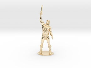 He-Man Miniature in 14K Yellow Gold: 1:60.96