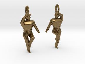 Earings - Keumgang in Natural Bronze
