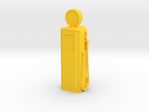 Tokheim 39 Gas Pump, 1/32 Scale in Yellow Processed Versatile Plastic