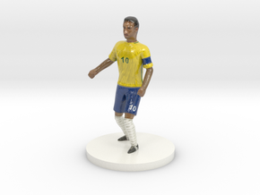 Neymar in Glossy Full Color Sandstone